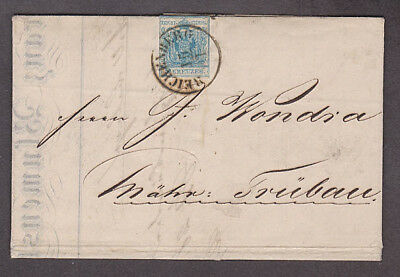 Austria - 1853 Folded letter with letter & invoice