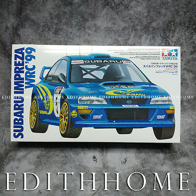 Tamiya 24218 1 24 Model Rally Car Kit Subaru Impreza Wrc 99 Gc8