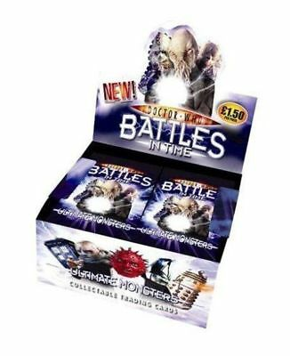 New Dr Who Battles in Time Ultimate Monsters Trading Cards Multi-Pack - 5 Pks