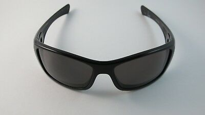 1a0f0281ca501 OAKLEY HIJINX BRUCE Irons Polished Black Warm Grey 03-590 RARE ...
