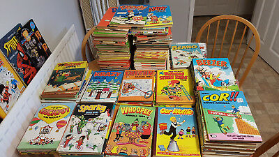 Comic Annuals Including Dandy Beano Beezer Cor Bash Cheeky Krazy Whizzer Whoopie