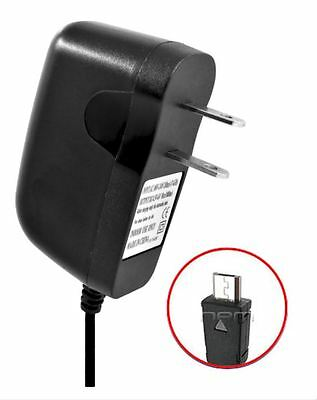 Home AC Wall Charger for Consumer Cellular 101 Alcatel A392CC, Alcatel Go Flip