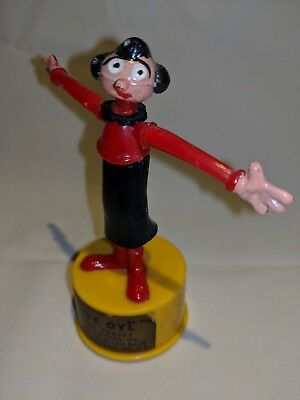 Vintage Olive Oyl (oil) Kohner Bros. Inc Push Up Toy King Features Syndicate