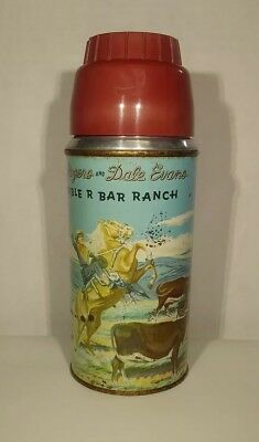Roy Rogers And Dale Evans Double R Bar Ranch Lunchbox Thermos