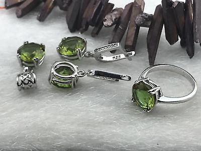 925 Sterling Silver  Jewelry  Alexandrite ( Color Change ) Ladie's Set