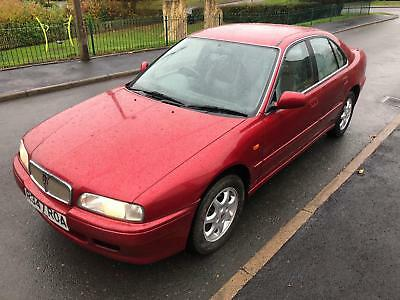 Rover 620I Ld Diesel Future Classic One Owner From New Red Mint Condition