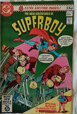 The New Adventures Of Superboy # 11