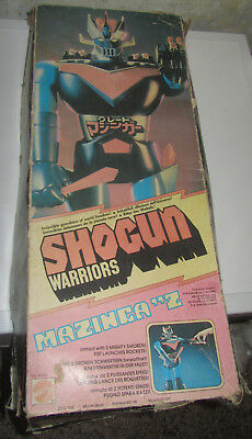 Grande Great Mazinga Mattel in BOX Shogun Warriors Jumbo Machinder SPESE GRATIS