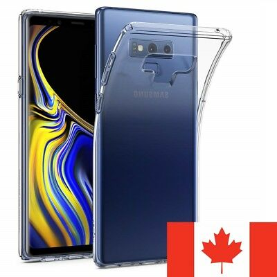 For Samsung Galaxy Note 9 Case - Clear Thin Soft TPU Silicone Back Cover