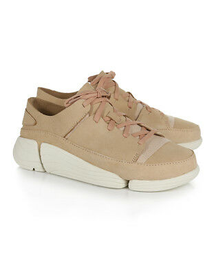 meet 51f12 fd50c Clarks Originals Trigenic Evo Womens Footwear Shoe - Light Pink Suede All  Sizes
