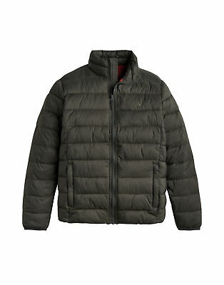 Joules Mens Go To Lightweight Padded Jacket - Olive All Sizes