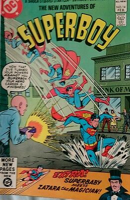 The New Adventures Of Superboy # 14