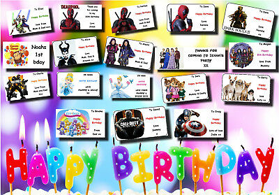 deadpool stickers birthday party personalized 48 1 67 inch 5 99