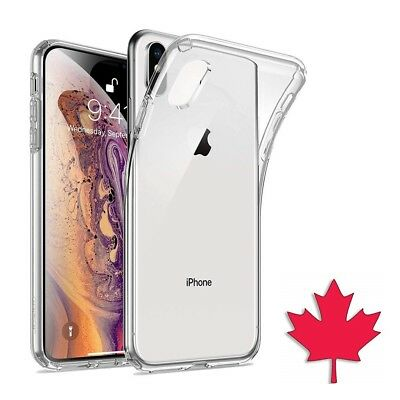 For iPhone XS Max Case - Crystal Clear Ultra Thin Soft TPU Transparent Cover