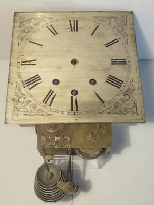 Mystery Antique c1840 Triple Train 8 Bells & Gong Musical Bracket Clock Movement
