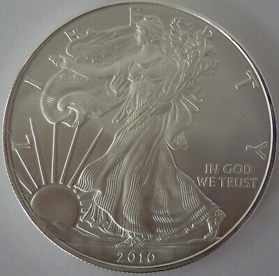 2010 AMERICAN SILVER EAGLE - 1 OZ - Uncirculated from the US Mint