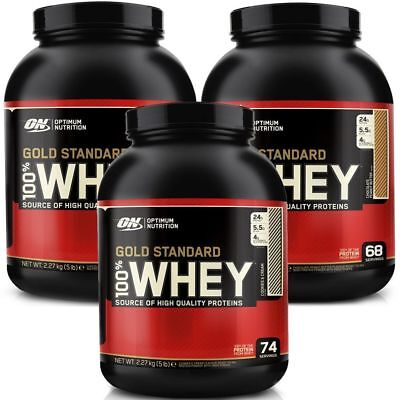 Optimum Nutrition 100% Whey Gold Standard 5 lb Double Rich Chocolate