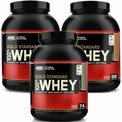 Optimum Nutrition 100% Whey Gold Standard 5 lb Delicious Strawberry