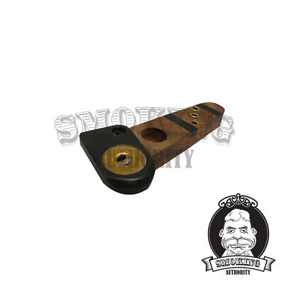 "Wooden Tobacco Pipe - 4"" Swivel Top Pipa Pipe for Smoking Tobacco, FREE Shipping"