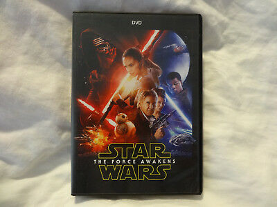 Star Wars: The Force Awakens DVD 2016  Excellent Condition
