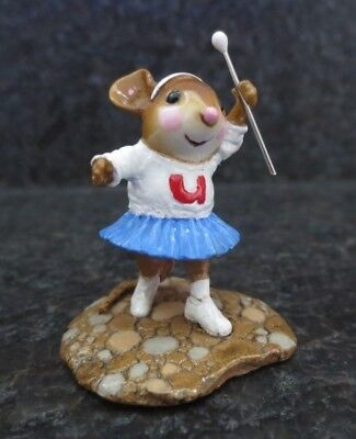 Wee Forest Folk Parade Majorette WFF MP-6 MP6 Collectible Figurine Repair Reglue