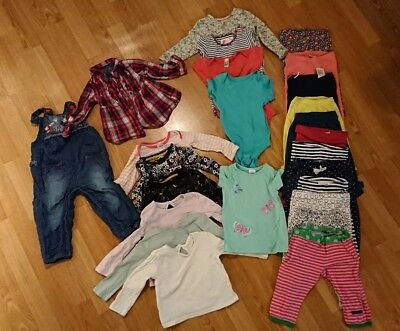 Large 9-12 month girls bundle 25 items