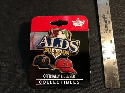 NEW 2008 ALDS Pin - Boston Red Sox vs Anaheim Angels - Los Angeles MLB Licensed
