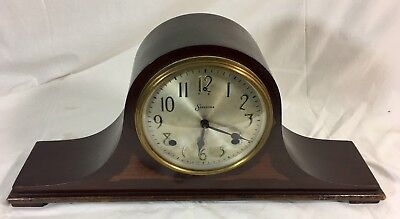 Vintage 1930's Sessions 8 Day Model 277P Rod Chime Mantle Clock