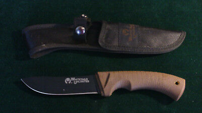 Whitetails Unlimited fixed blade Knife