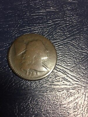 1794 U.s. Liberty Cap Flowing Hair Copper Early Large Cent