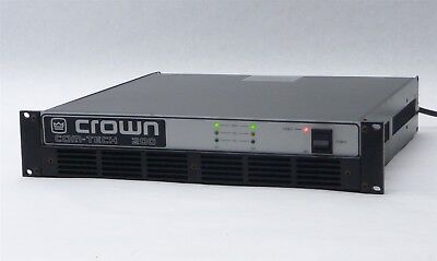 Crown Com-Tech Ct 200 2-Channel 2-Ch Amp Stereo Power Pro Amplifier W/ Bb Pip