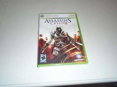 Assassin's Creed II (Microsoft Xbox 360, 2009) BRAND NEW FACTORY SEALED!!