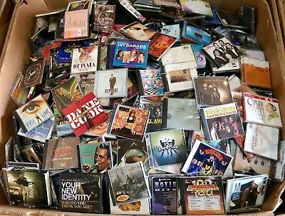 Assorted CDs Lot of 300 Assorted Genre Mix ALL FAIR-MINT CONDITION! Music Cd Lot