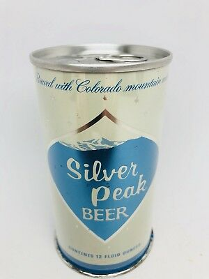 Silver Peak Beer - Early Ring Pull Can From Colorado. Tivoli Brewing. Denver, CO