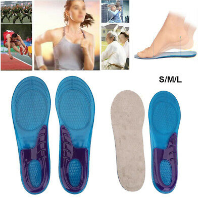 Men Women Silicone Gel Shoes Cushion Foot Care Shoes Insert Pad Sole Insole