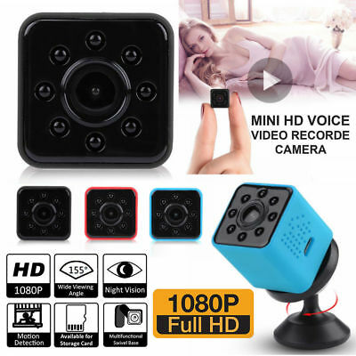 SQ23 1080P HD Wireless Mini WiFi Motion Detection Camera Security IR Night Visio