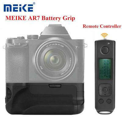 MEIKE AR7 Wireless Camera Battery Grip+2.4G Remote Controller for Sony A7R/A7S