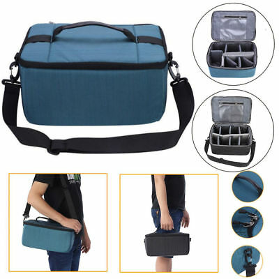 Waterproof Padded DSLR SLR Camera Bag Lens Bag Insert Case Partition Lens Pouch