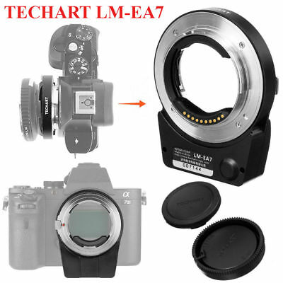 TECHART LM-EA7 Adapter Ring with Bluetooth for Sony E mount Leica M Lens A7RIII