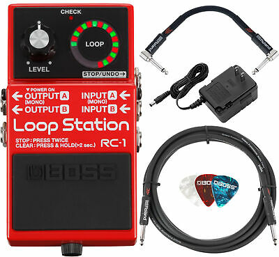 Boss RC-1 Loop Station w/ Power Supply