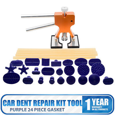 Car Dent Repair Body Paintless Kit PDR Dint Damage Remover T-Bar Puller Tool