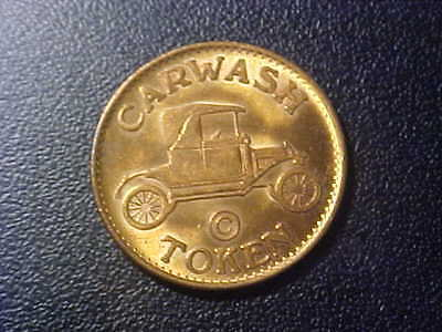 Carwash Token!  Non-Refundable!  No Cash Value!   U140Xx