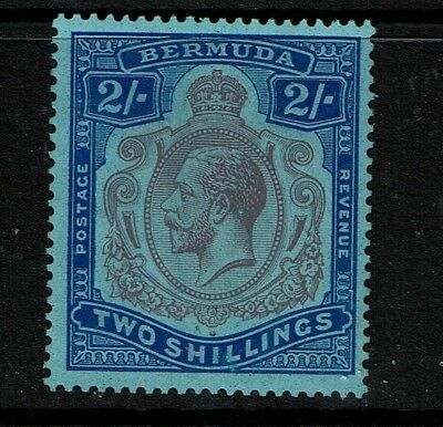 Bermuda SG# 88, Mint Hinged, Hinge Remnant, very shallow, sm center thin - S5161