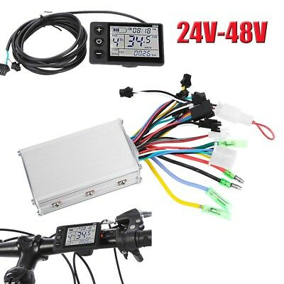 24-48V Electric Bicycle E-bike Scooter Brushless Motor Speed Controller Kit New