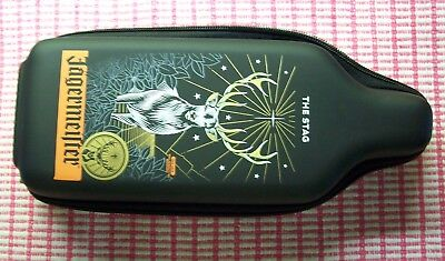Jagermeister The Stag Bottle Insulator Kozzie  Zipper Protector Case