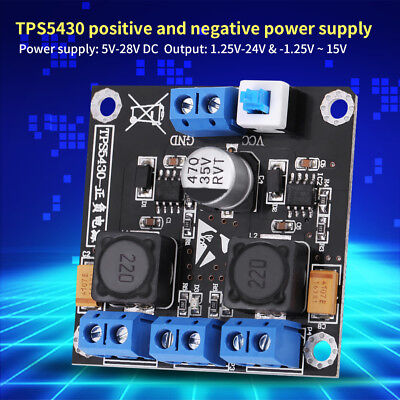 TPS5430 Positive Negative Dual Power Supply Module with Switching ly