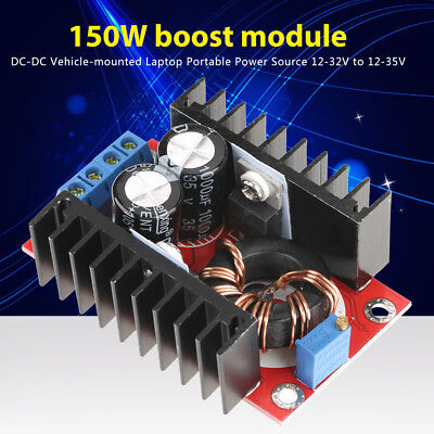 DC-DC Step-Up 12-32V to 12-35V Voltage Converter Power Supply Boost Module new
