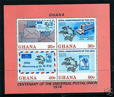 Ghana 1974 Centenary of UPU MS SG 709 MNH