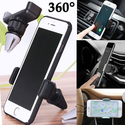 Magnetic Car Vehicle Holder Mobile Phone GPS Stand 360° Bracket Air Vent Mount