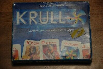Krull Vintage 1983 A Card Game of Power and Chance Parker Brothers